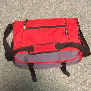 Eddie Bauer Red Laptop Bag/Briefcase
